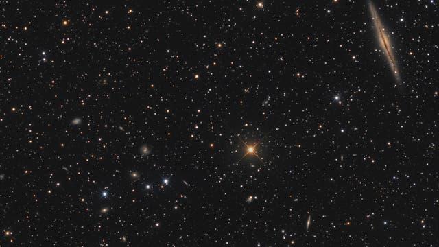 NGC 891 und Abell 347