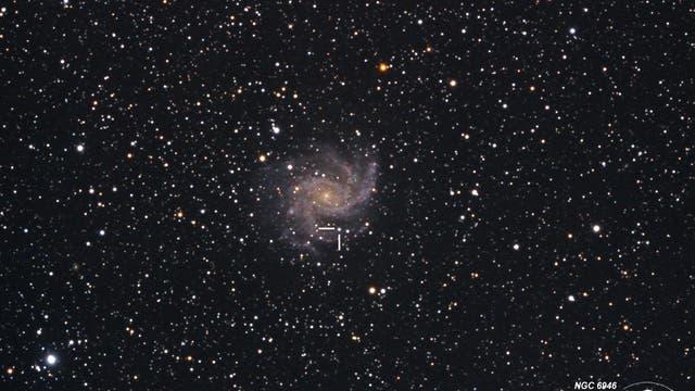 Supernova SN 2017eaw in NGC 6946
