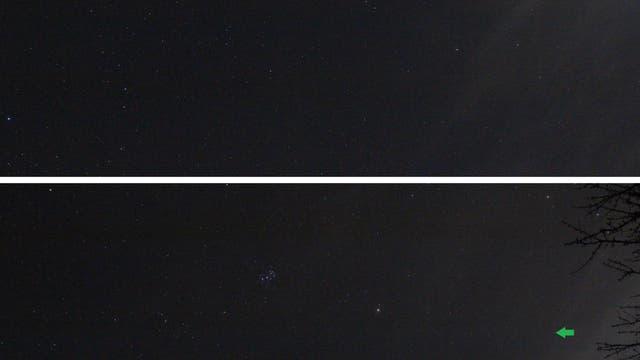 Mars und Uranus