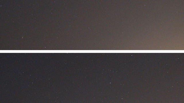 Uranus im Sternbild Widder