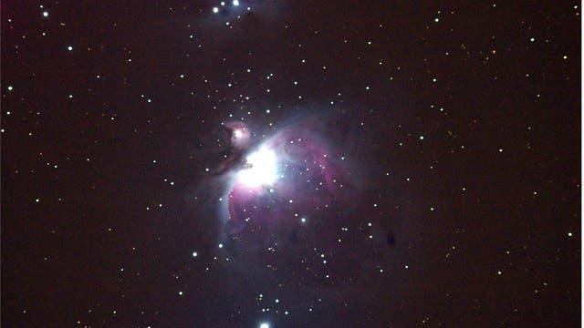 Orion M42 und der Running Man