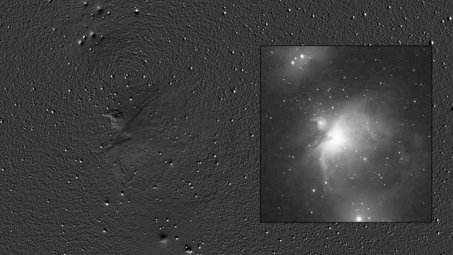 Orions unbekannte Taube