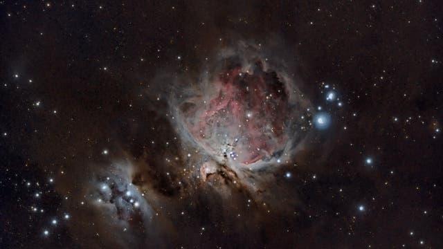 Orion-Nebel aus der Restekiste