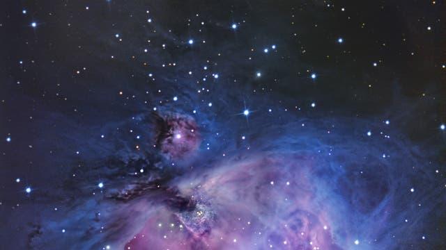 Runningman und Orionnebel - Messier 42