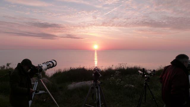 Venustransit: Alle Teleskope ausgerichtet