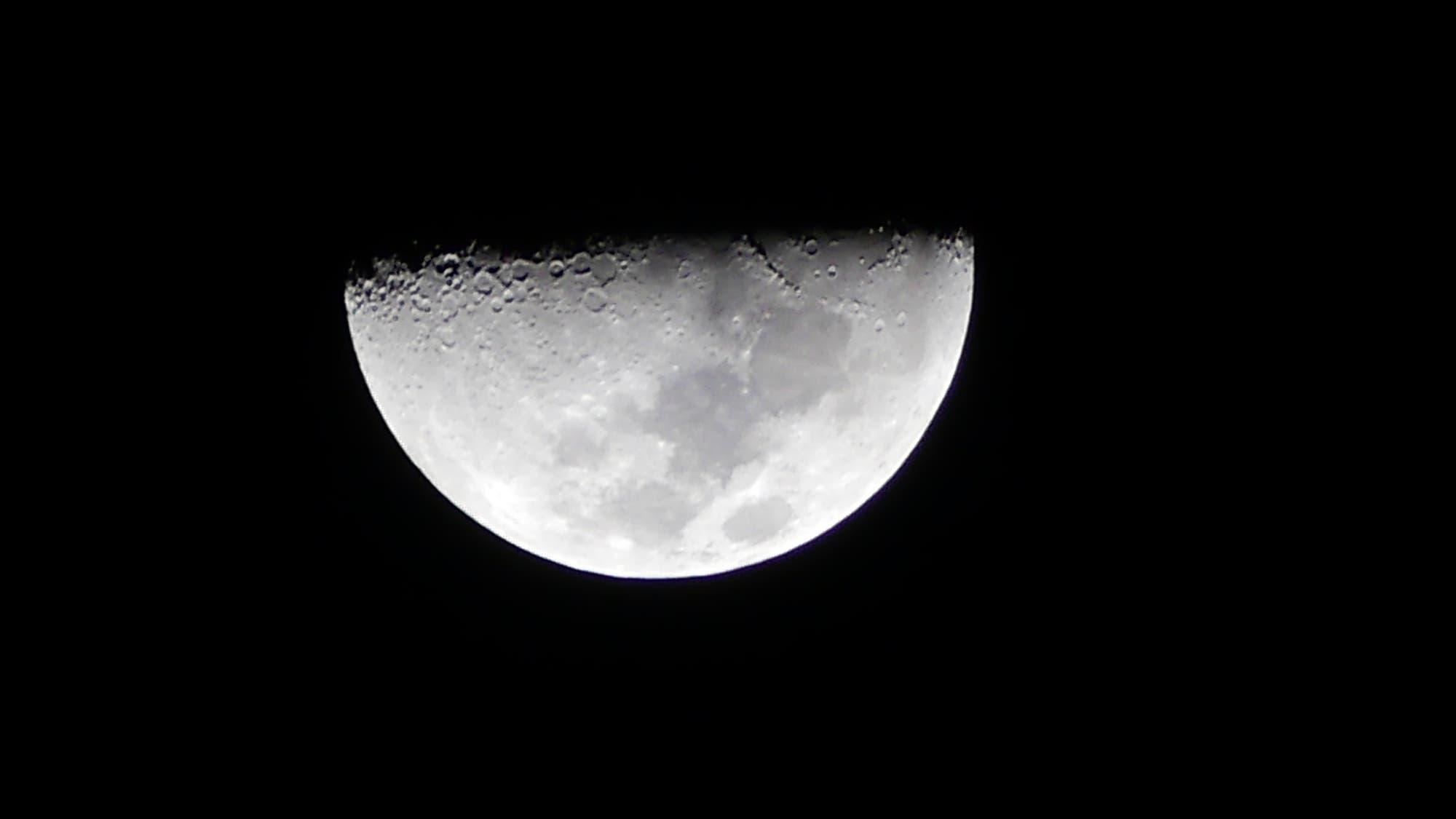 Mond über Curacao/Karibik