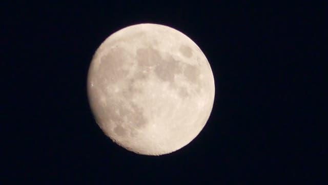 Mond am 14. Juli 2019