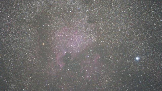 Urlaubskamera trifft NGC 7000