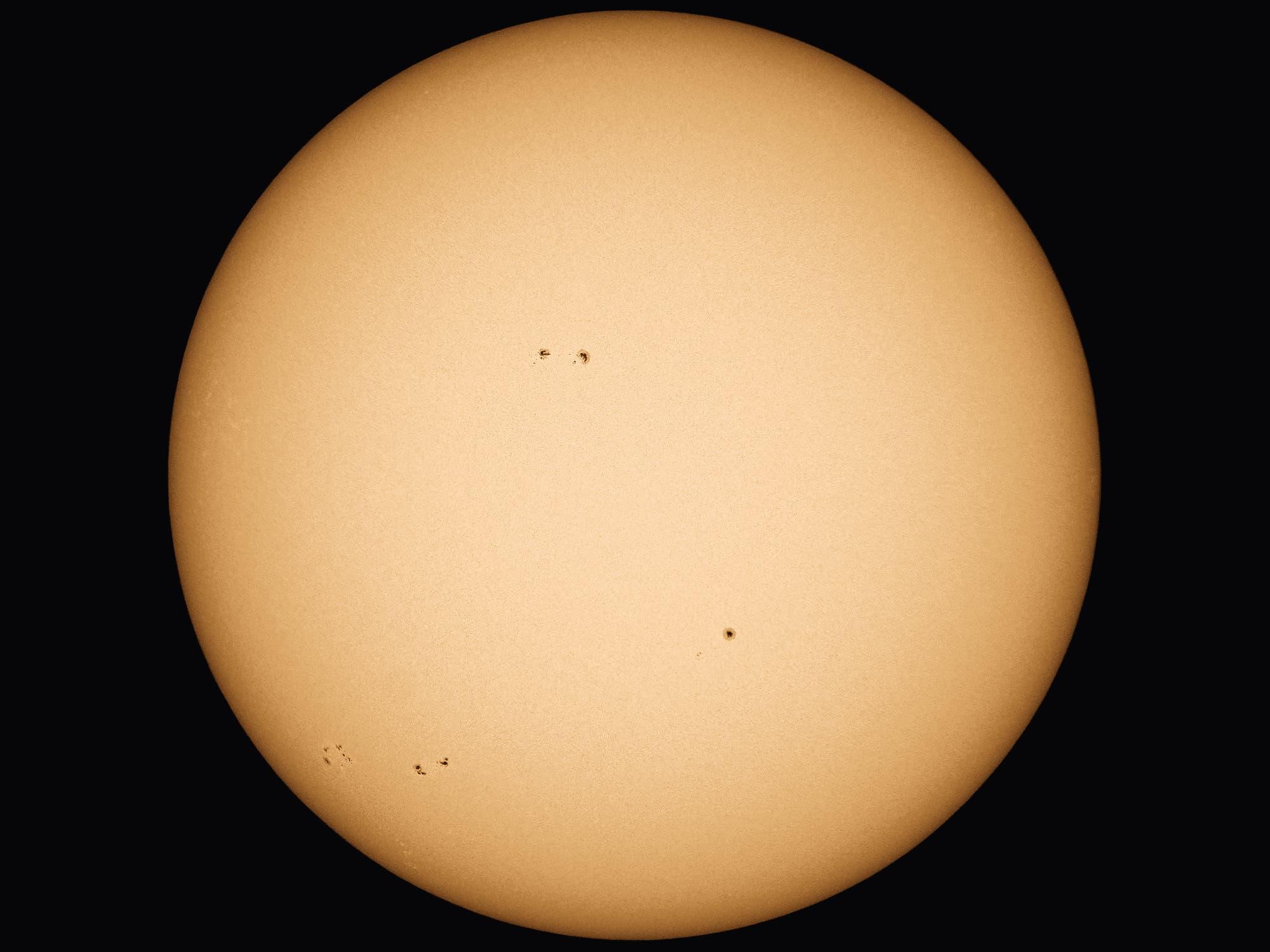 Die Sonne Anfang September - 1