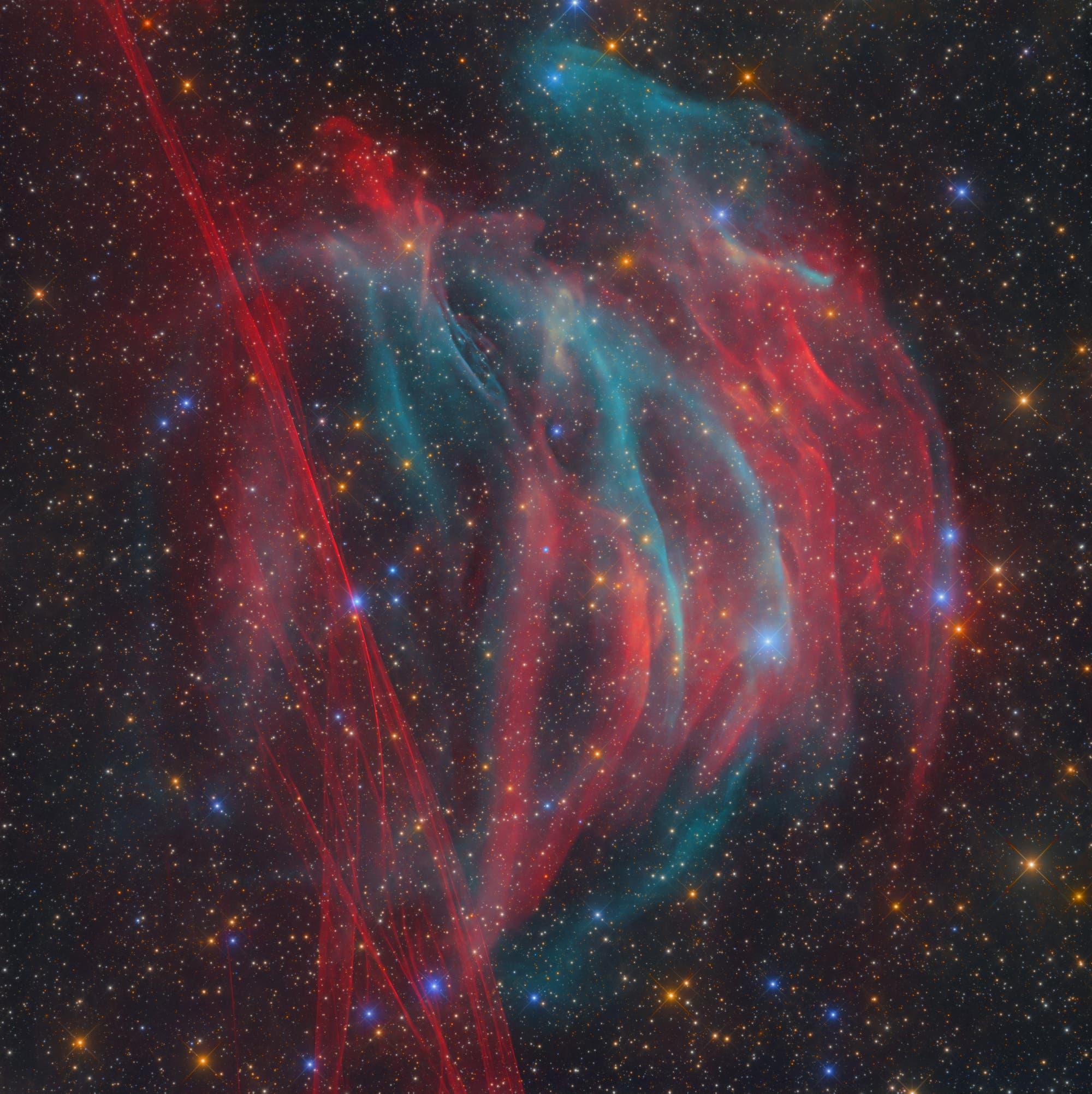PaStDr 8 / Der Bärenstein-Nebel und der Supernova-Überrest G354-33