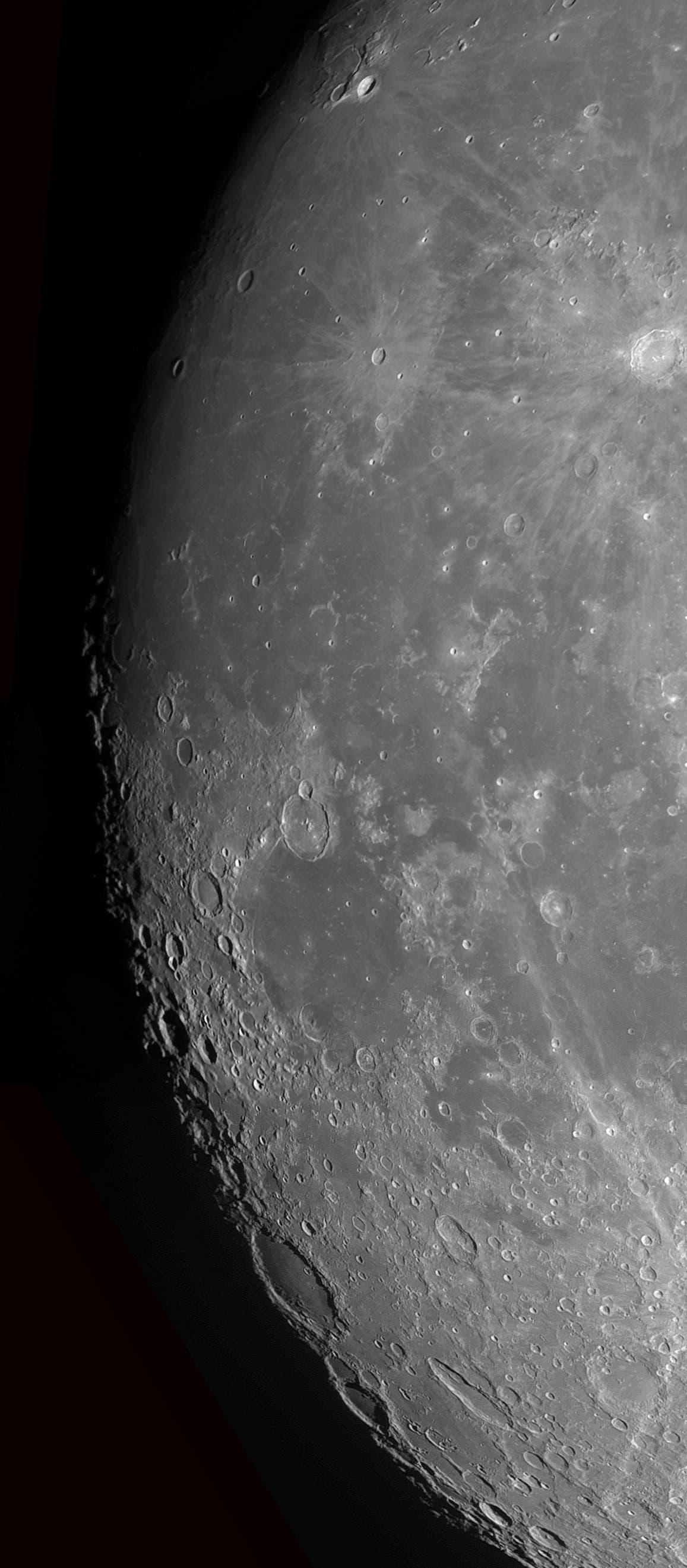 Der Mond am 27. April 2018 (2)