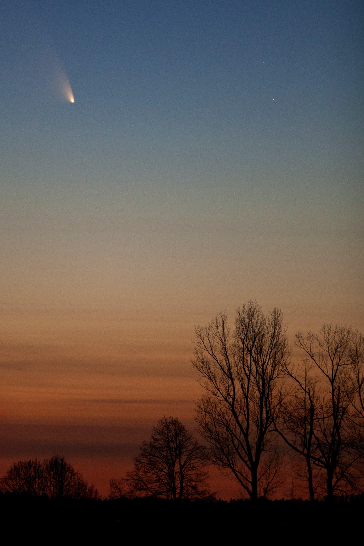 Komet PANSTARRS auf der Schwäbischen Alb