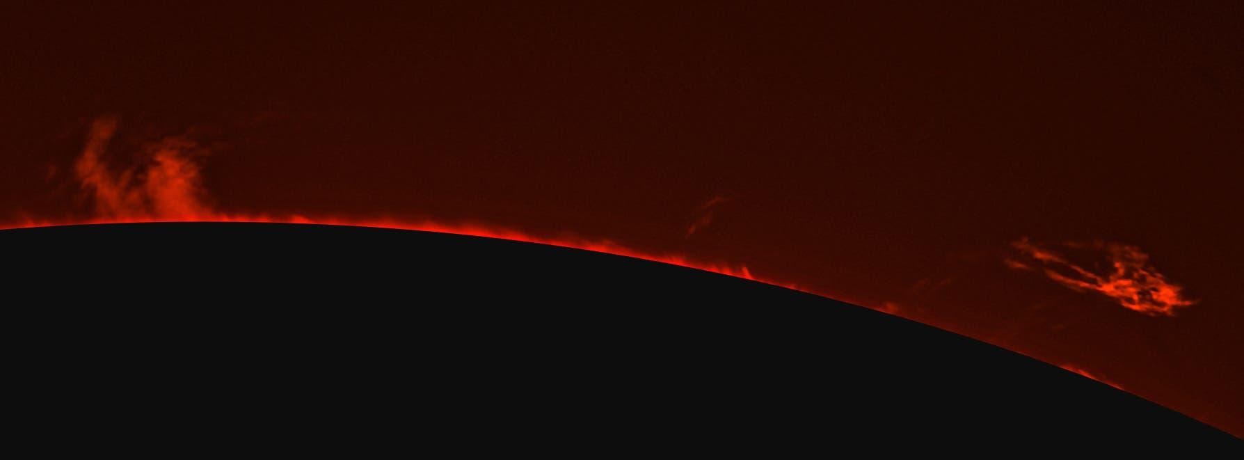 Die Sonne am 13. Juni 2021