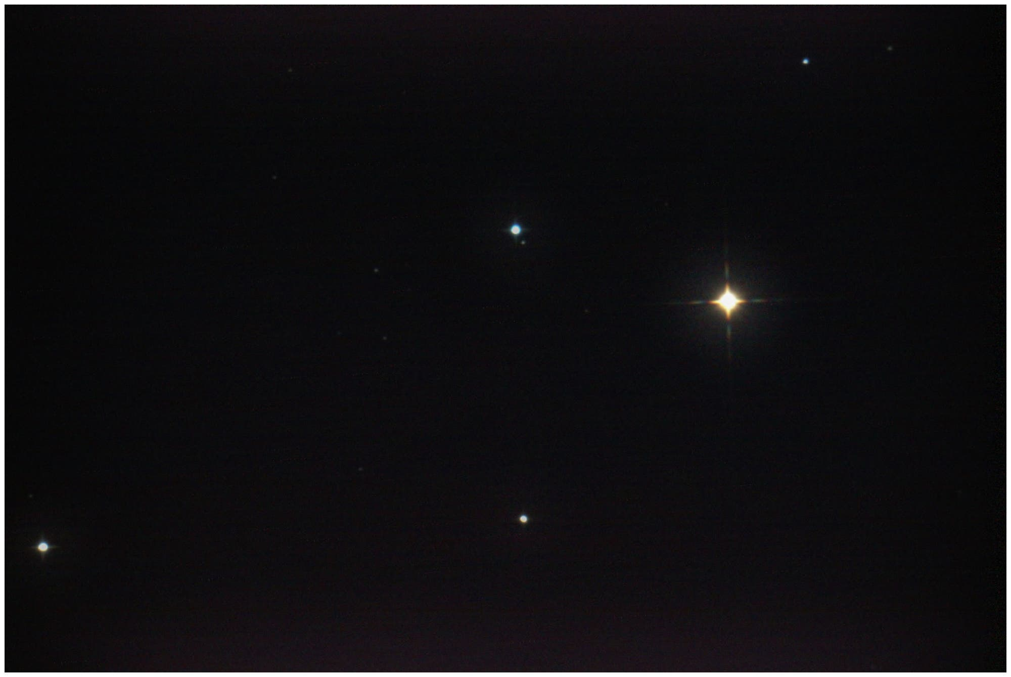 Planet Neptun bei Phi Aquarii