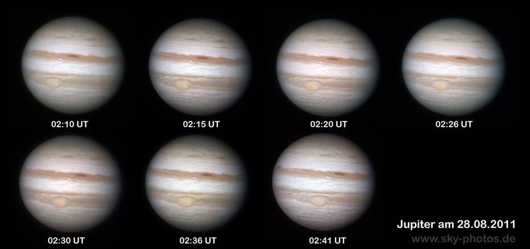 Jupiter am 28.8.2011