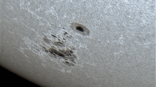 Sonnenfleck 2781 am 04. November 2020