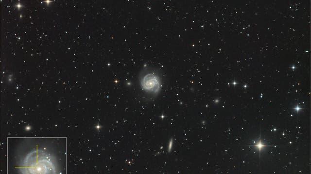 Supernova SN2019ehk in Messier 100