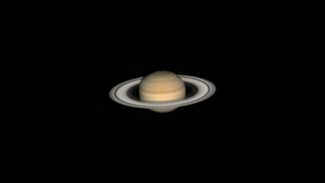 Saturn am 14. August 2021