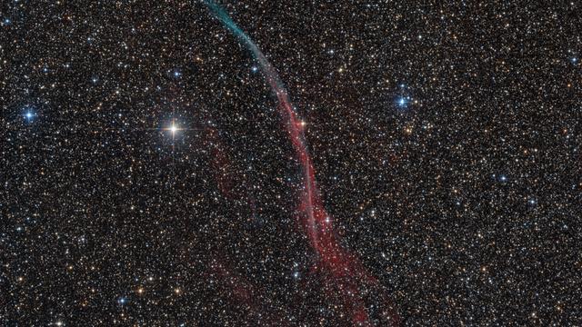 Sh2-91 Supernova-Überrest im Schwan