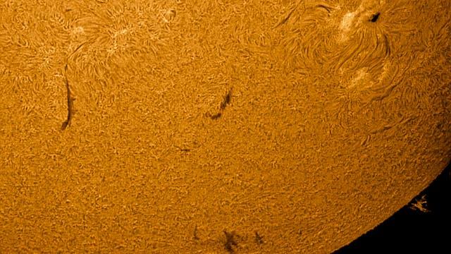 Sonnenaktivität am 3. Juli 2021