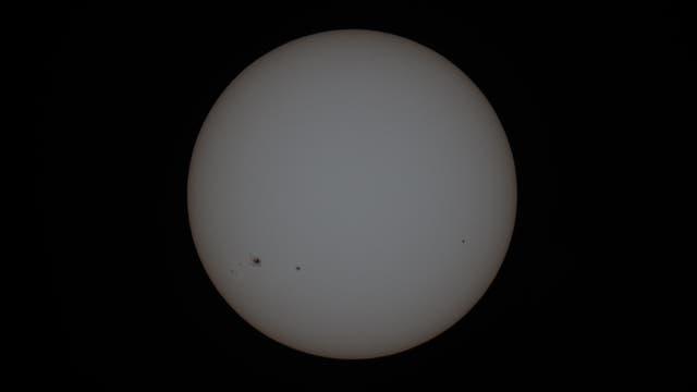 Sonne am 26. November 2020