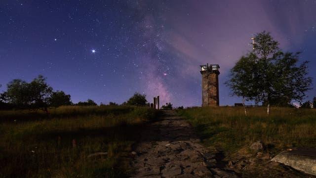 Eine Nacht auf der Hornisgrinde - Der Signalturm