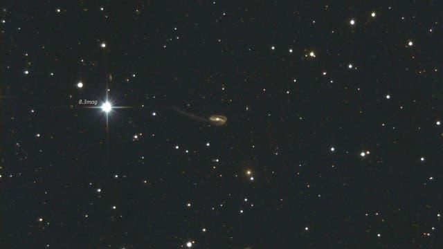 "UGC 10214,  Arp 188 – ""Tadpole Galaxy"""