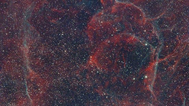 Vela-Supernovaüberrest aus La Palma