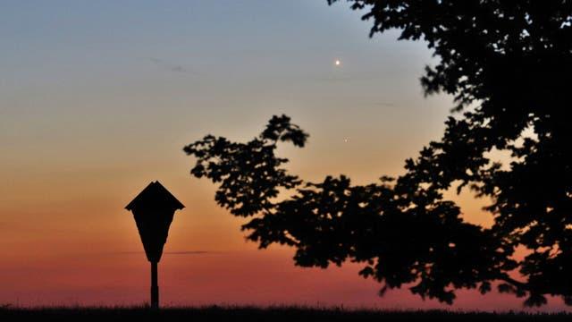 Venus und Merkur am 21. Mai 2020
