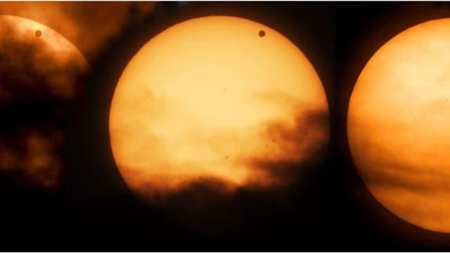 Venus-Show und Ärger mit dem Vorhang