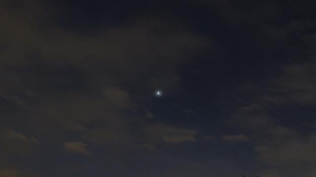 Venus nahe Regulus, Bild 1