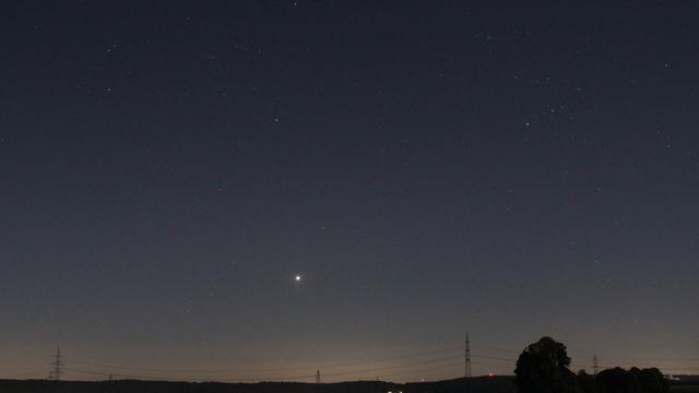 Venus am Morgenhimmel