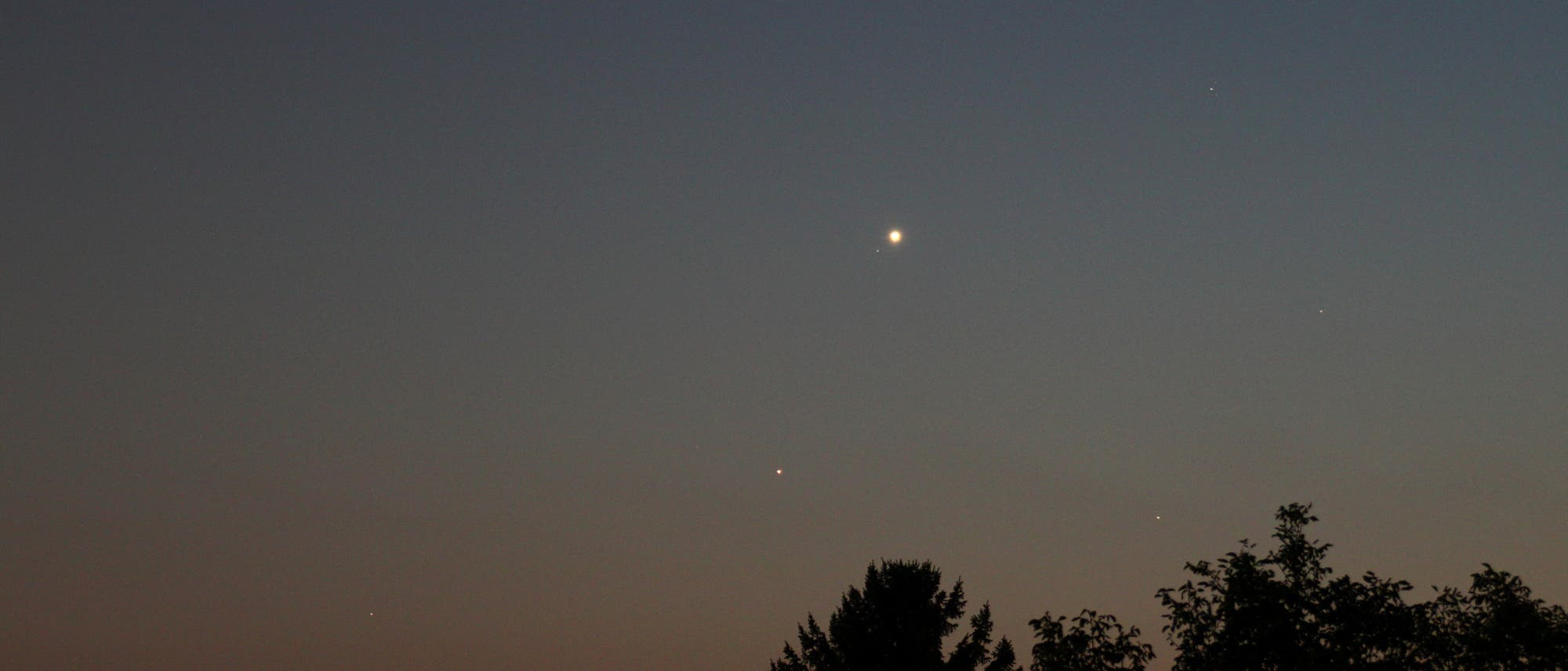 Venus bei Antares
