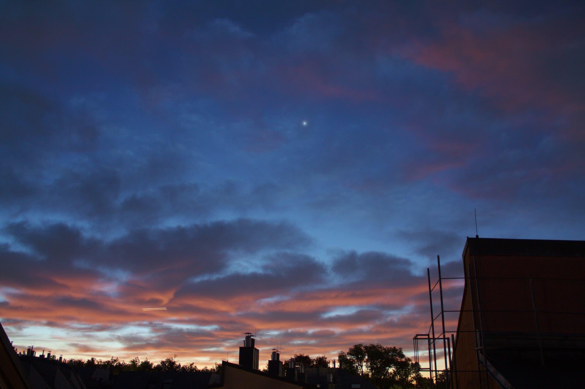 Venus (mit Aureole) und Morgenrot