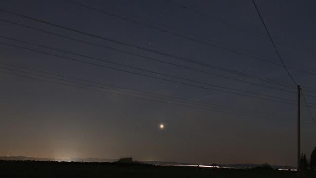 Venus im Sternbild Schütze