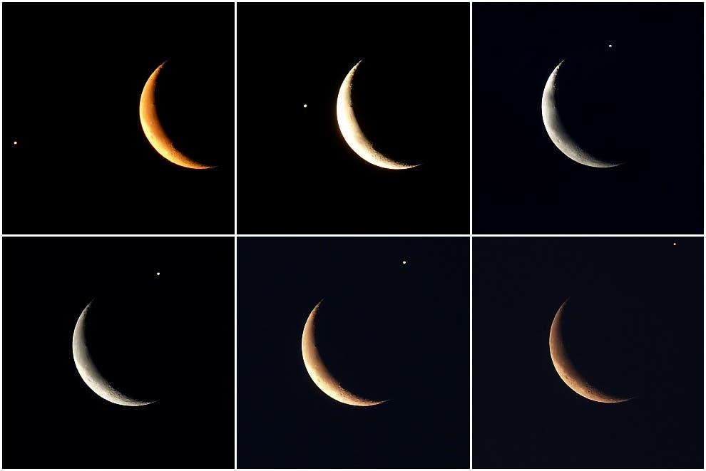 Jupiterbedeckung durch den Mond