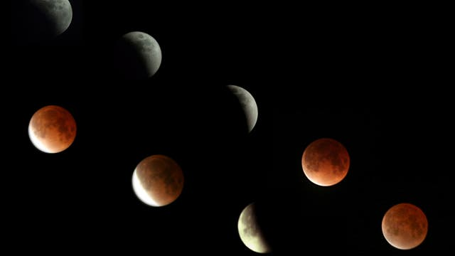 Mondfinsternis am 21. Februar 2008