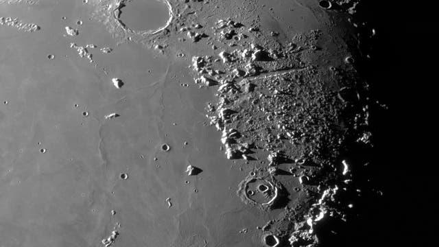 Der Mond am 31. Juli 2021