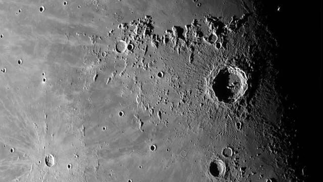 Der Mond am 30. September (2)