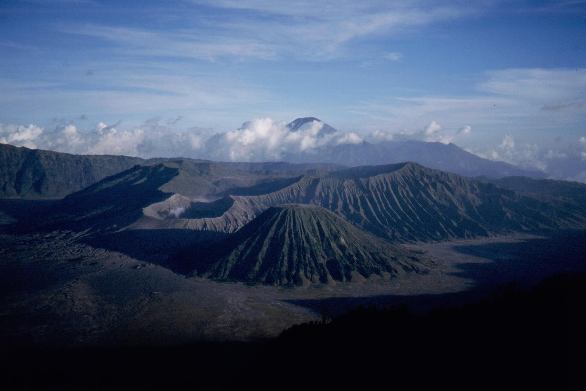 Vulkanlanschaft auf Jawa Bromo