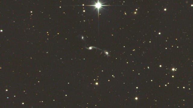 Tanzende Galaxien im Sternbild Jungfrau: Wild´s Triplet