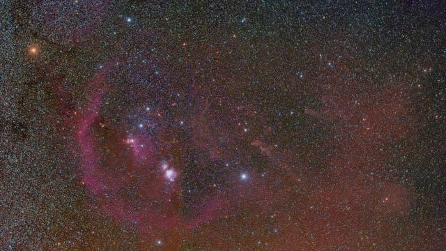 Orion-Weitfeldaufnahme
