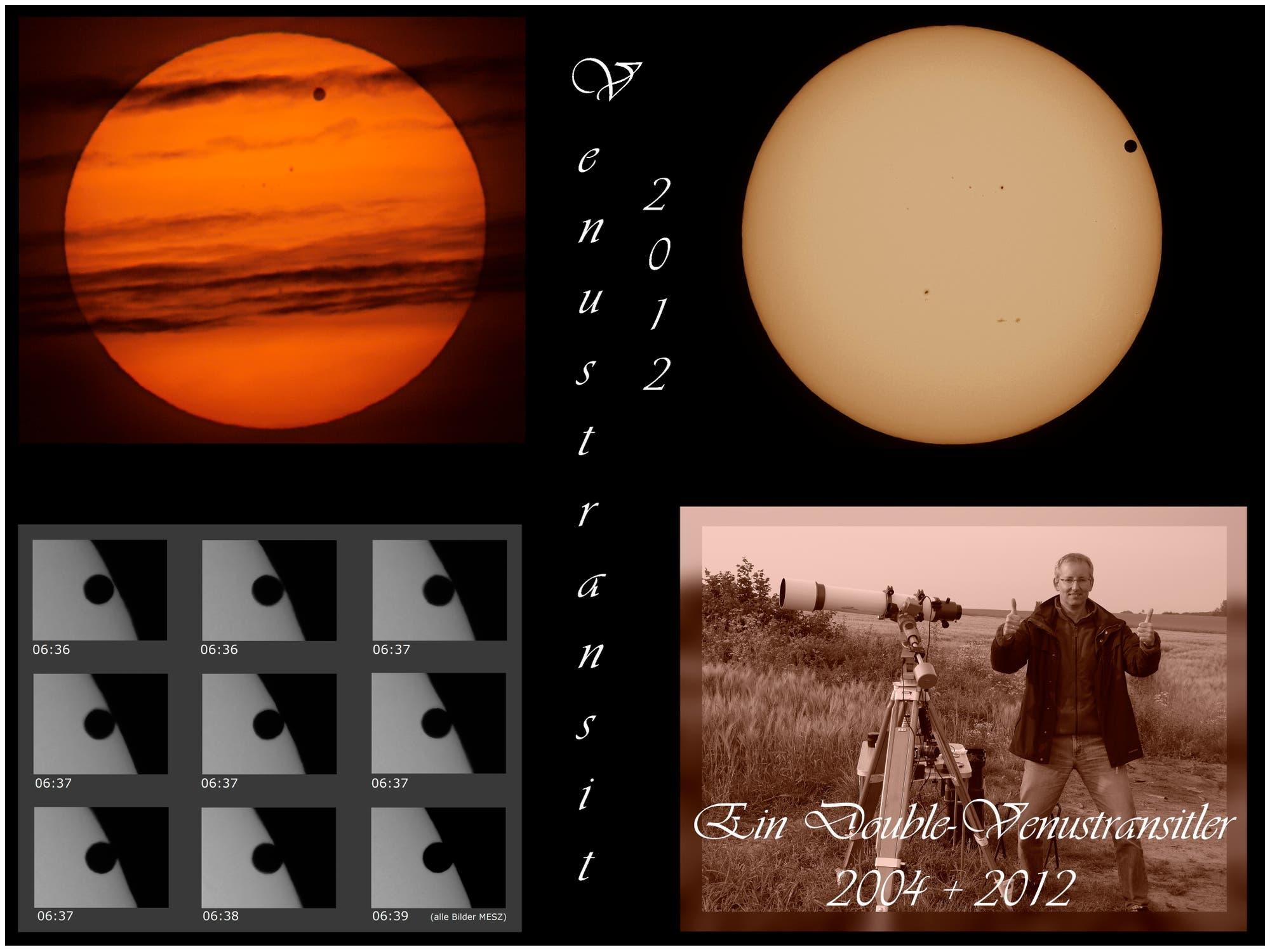 Venustransit 2012: eine kleine Übersicht