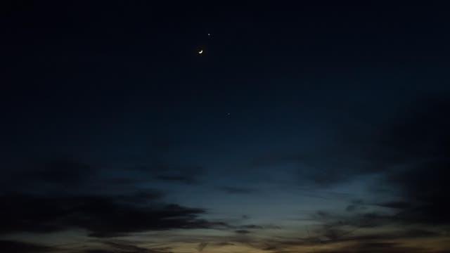 Venus Mond Jupiter 26.3.2012