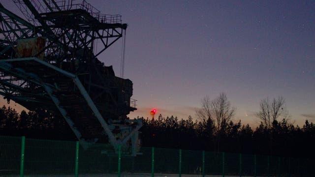 Komet C/2011 L4 PANSTARRS in der Niederlausitz