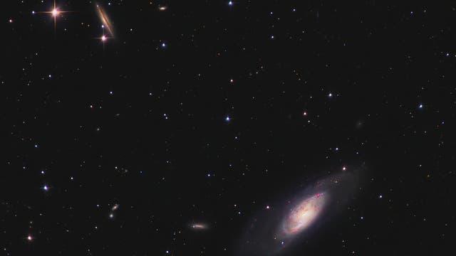 Messier 106 und Freunde