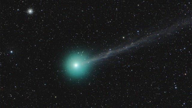 Comet Lovejoy und M 79