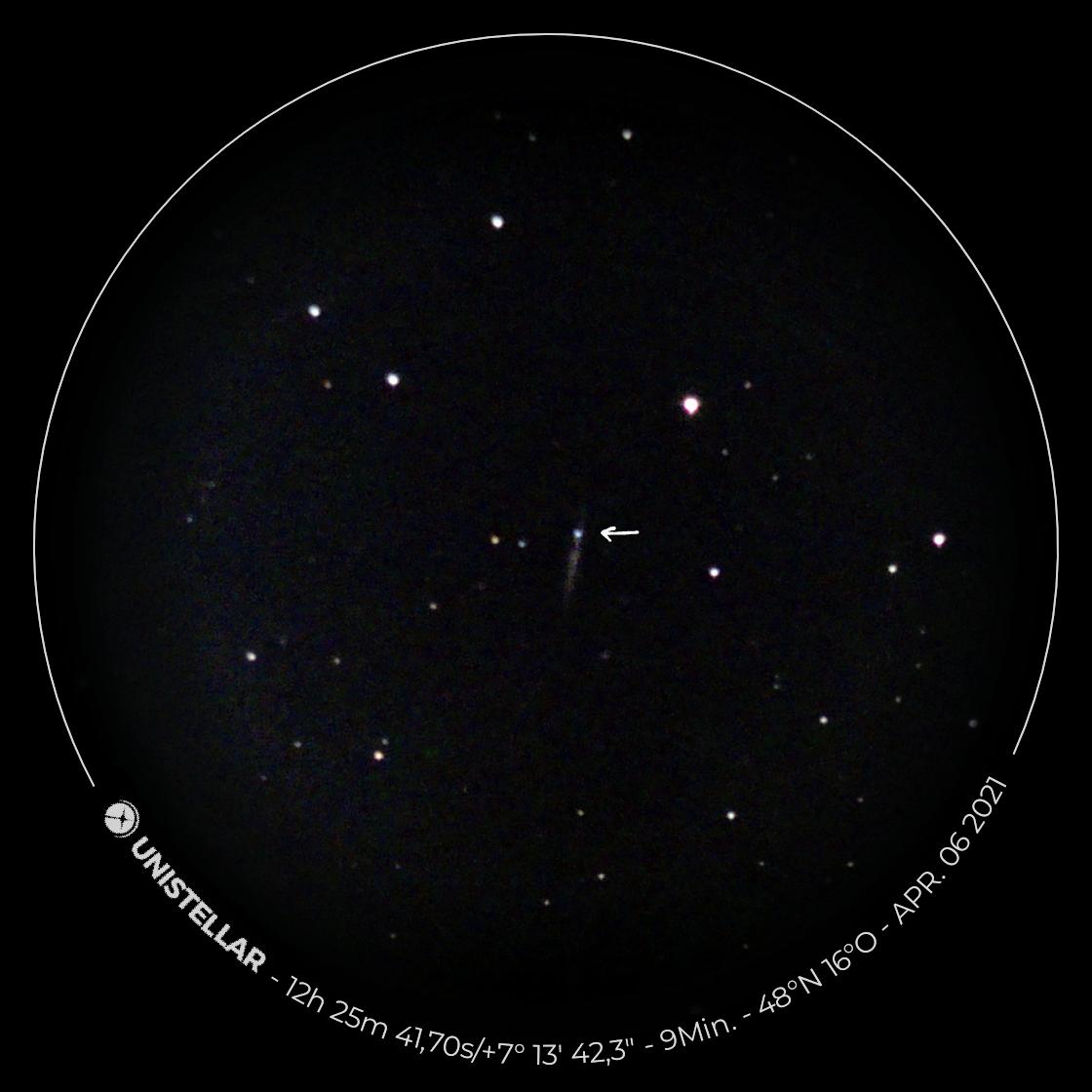 Supernova SN 2021hiz