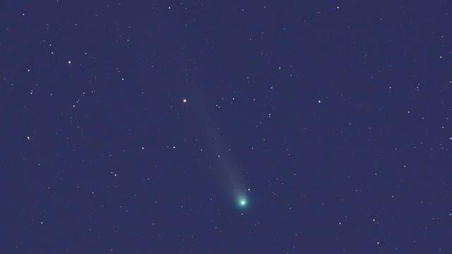 Komet C/2013 R1 LOVEJOY am 27. Dezember 2013