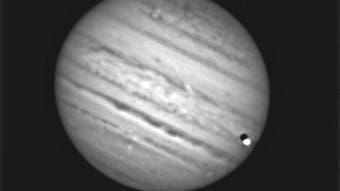 Schattenvorübergang von Io am 21. August 2021 (2)